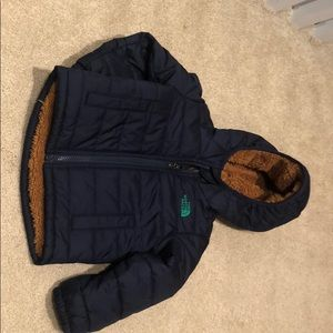 North face winter coat-reversible